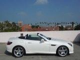 2013 Mercedes-Benz SLK Diamond White Metallic