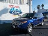 2013 Deep Impact Blue Metallic Ford Explorer FWD #77042482