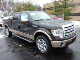 2013 Kodiak Brown Metallic Ford F150 Lariat SuperCrew 4x4 #77042543