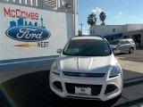 2013 White Platinum Metallic Tri-Coat Ford Escape SEL 2.0L EcoBoost #77042481