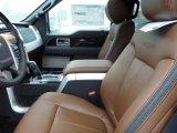 2013 Ford F150 Platinum SuperCrew 4x4 Platinum Unique Pecan Leather Interior