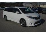 2011 Super White Toyota Sienna SE #77042706