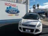 2013 White Platinum Metallic Tri-Coat Ford Escape SE 1.6L EcoBoost #77042477