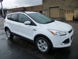2013 Oxford White Ford Escape SE 2.0L EcoBoost 4WD #77042528