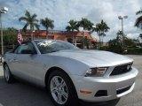 2011 Ingot Silver Metallic Ford Mustang V6 Convertible #77042518