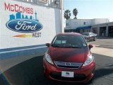 2013 Ruby Red Ford Fiesta SE Sedan #77042472