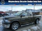 2012 Sagebrush Pearl Dodge Ram 1500 Laramie Quad Cab 4x4 #77042637