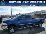 2010 Deep Water Blue Dodge Ram 3500 Big Horn Edition Crew Cab 4x4 #77042633