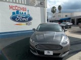 2013 Sterling Gray Metallic Ford Fusion SE #77042464