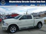 2010 Stone White Dodge Ram 1500 Big Horn Quad Cab 4x4 #77042631
