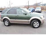 2005 Kia Sorento Ivy Green Metallic