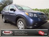 2013 Twilight Blue Metallic Honda CR-V LX #77069243