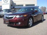 2010 Basque Red Pearl Acura TSX Sedan #77069249