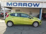 2013 Lime Squeeze Ford Fiesta SE Hatchback #77077199