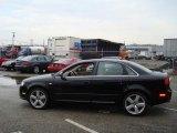 2008 Brilliant Black Audi A4 3.2 Quattro S-Line Sedan #7689392