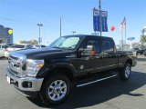 2012 Black Ford F250 Super Duty Lariat Crew Cab 4x4 #77077182