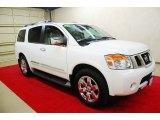 2012 Blizzard White Nissan Armada Platinum #77077215