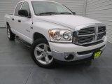 2008 Bright White Dodge Ram 1500 Lone Star Edition Quad Cab #77077268