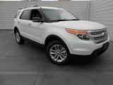 2013 White Platinum Tri-Coat Ford Explorer XLT #77077261