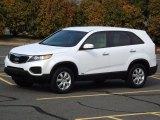 2011 Snow White Pearl Kia Sorento LX AWD #77107372