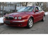 2002 Jaguar X-Type Carnival Red Metallic