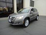 2011 Alpine Gray Metallic Volkswagen Tiguan SEL 4Motion #77107778