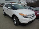 2011 White Platinum Tri-Coat Ford Explorer Limited 4WD #77107026
