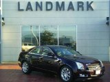 2009 Black Cherry Cadillac CTS 4 AWD Sedan #7703707