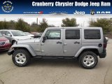 2013 Billet Silver Metallic Jeep Wrangler Unlimited Sahara 4x4 #77107180