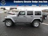 2013 Billet Silver Metallic Jeep Wrangler Unlimited Sahara 4x4 #77107178