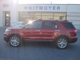 2013 Ruby Red Metallic Ford Explorer XLT 4WD #77107489