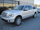 Ingot Silver Metallic Ford F150 in 2013