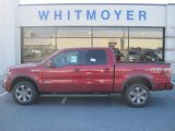 2013 Ruby Red Metallic Ford F150 FX4 SuperCrew 4x4 #77107472