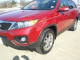2011 Spicy Red Kia Sorento EX #77107746
