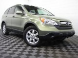 2009 Green Tea Metallic Honda CR-V EX-L 4WD #77107465