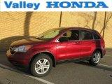 2010 Tango Red Pearl Honda CR-V EX AWD #77106971