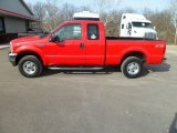 2002 Red Clearcoat Ford F250 Super Duty Lariat SuperCab 4x4 #77107737