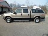 2004 Arizona Beige Metallic Ford F250 Super Duty Lariat Crew Cab 4x4 #77107736