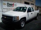 2009 Summit White Chevrolet Silverado 1500 Extended Cab 4x4 #7695955