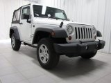 2011 Bright White Jeep Wrangler Sport 4x4 #77107451
