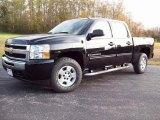 2009 Black Chevrolet Silverado 1500 LT Z71 Crew Cab 4x4 #7707270