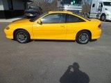 2003 Yellow Chevrolet Cavalier LS Sport Coupe #77107729