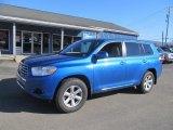 2008 Blue Streak Metallic Toyota Highlander 4WD #77107721