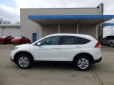 2013 White Diamond Pearl Honda CR-V EX-L AWD #77107612