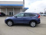 2013 Twilight Blue Metallic Honda CR-V EX-L AWD #77107609