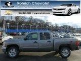 2013 Graystone Metallic Chevrolet Silverado 1500 LT Crew Cab 4x4 #77107717