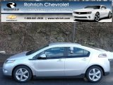 2013 Silver Ice Metallic Chevrolet Volt  #77107716