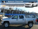 2013 Silver Ice Metallic Chevrolet Silverado 1500 LT Crew Cab 4x4 #77107713