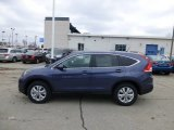 2013 Twilight Blue Metallic Honda CR-V EX AWD #77107596