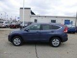 2013 Twilight Blue Metallic Honda CR-V EX AWD #77107596